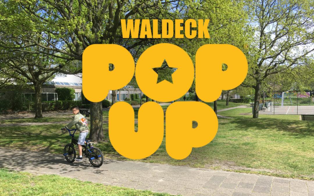 Pop up Nieuw Waldeck